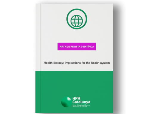 Health literacy: Implications for the health system