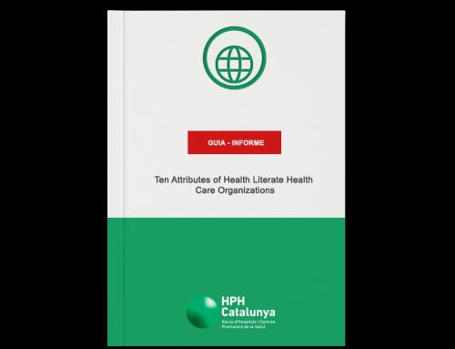 Ten Attributes of Health Literate Health Care Organizations