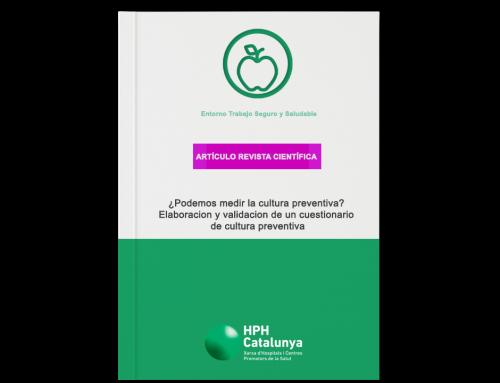 ¿Podemos medir la cultura preventiva?  Elaboración y validación de un cuestionario de cultura preventiva