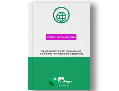 Generic health literacy measurement instruments for children and adolescents