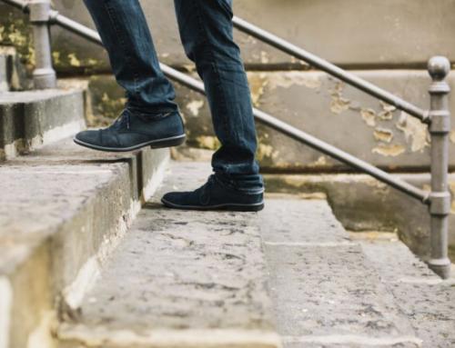 Pujar per les escales és una bona elecció
