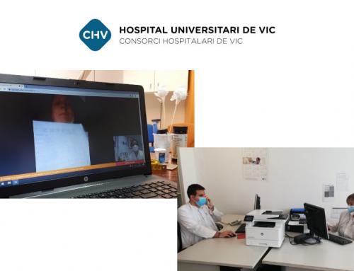 Iniciativas para mejorar la comunicación con pacientes durante la pandemia en Consorci Hospitalari de Vic