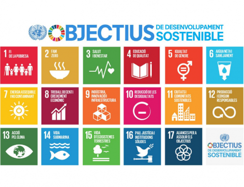 La Xarxa HPH Catalunya se adhiere a los Objetivos de Desarrollo Sostenible