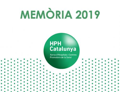 La Xarxa HPH Catalunya publica la seva Memòria 2019