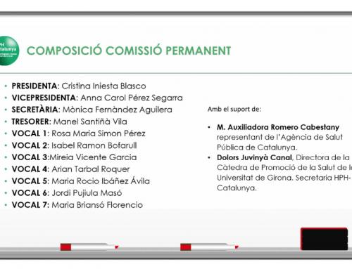 Nous càrrecs a la Comissió Permanent de la Xarxa HPH Catalunya